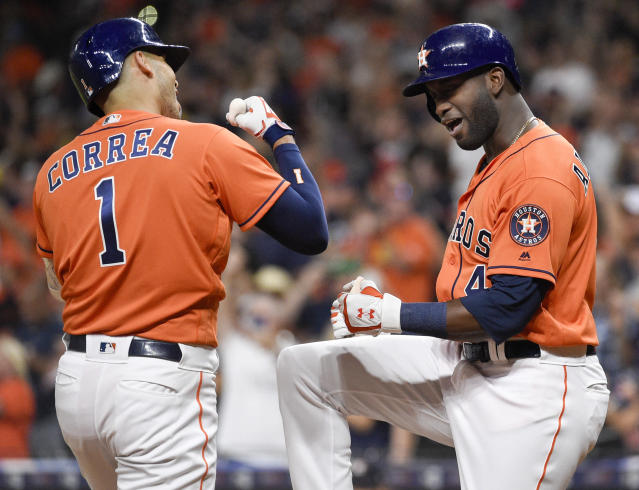 The Astros might be the most dangerous team in MLB. (AP Photo/Eric Christian Smith)