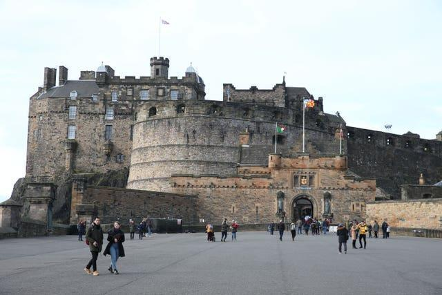 Josh Taylor is keen to fight at Edinburgh Castle