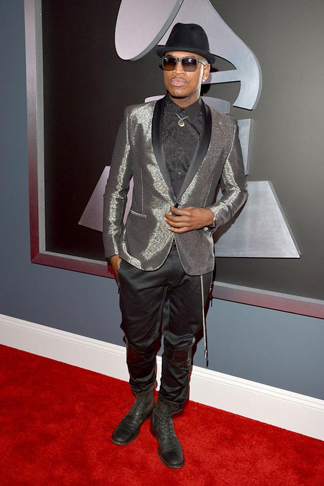 Ne-Yo arrives at the 55th Annual Grammy Awards at the Staples Center in Los Angeles, CA on February 10, 2013.