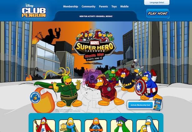 Disney Shakes Up Club Penguin With Celeb Dance Party