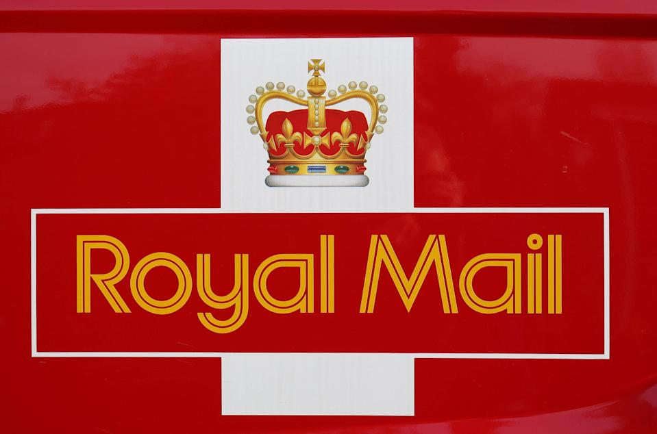 File photo dated 20/01/15 of the logo for Royal Mail. Royal Mail has announced that around 33,000 temporary jobs will be available this year over the Christmas period - over 10,000 more than its usual seasonal average.