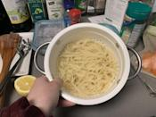 <p>Straight out of the pot, the pasta kept its shape nicely, and I could have been convinced on appearances alone that this was just an ordinary flour-based pasta. But the taste and texture gave it away.</p>