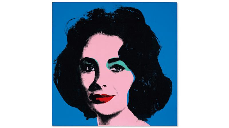 Andy Warhol's Liz [Early Colored Liz], 1963, sold for $19.3 million.