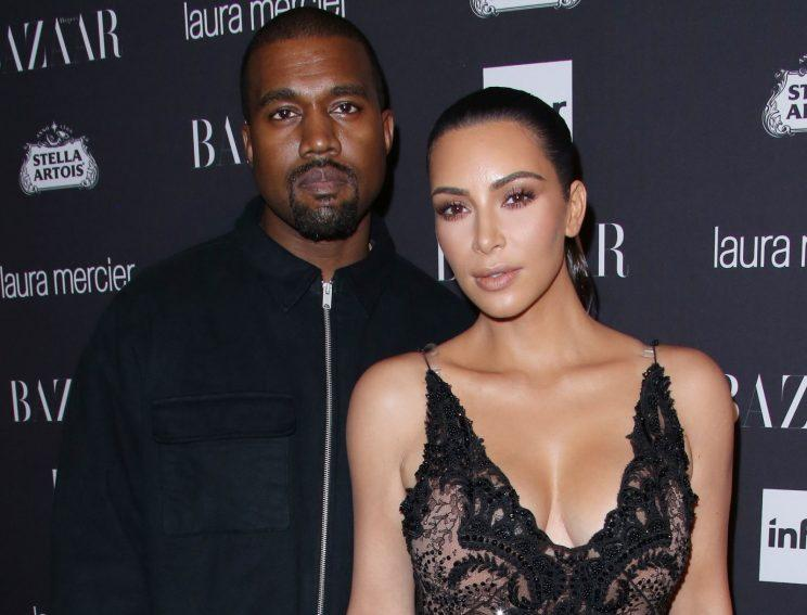 Kim has been left terrified by Kanye's hospitalisation. Copyright: Rex