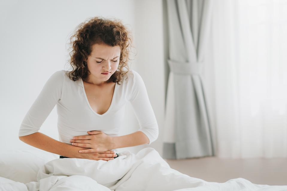 Stomach aches and pains are signs of pancreatic cancer. (Getty Images)