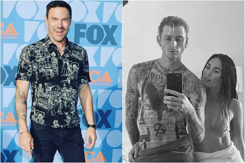 Here's How Brian Austin Green Reacted to Megan Fox's PDA Pic with Machine Gun Kelly