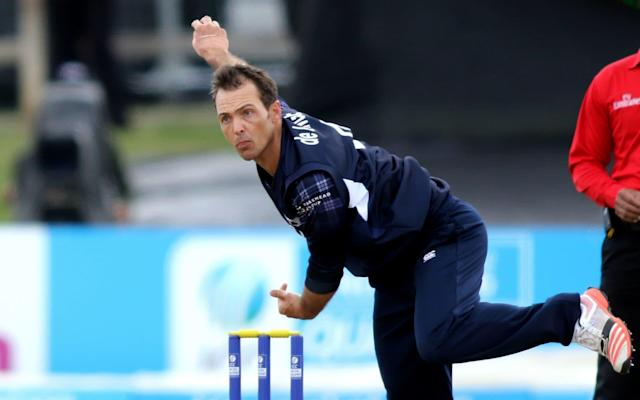 Con de Lange played 13 ODIs and eight T20Is for Scotland - AFP