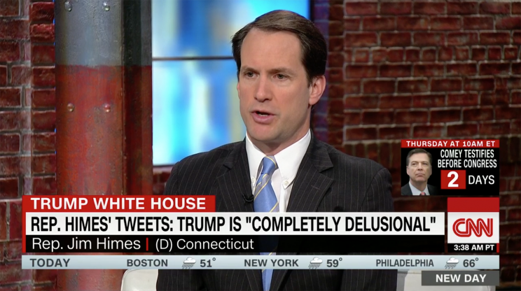 Himes on CNN's