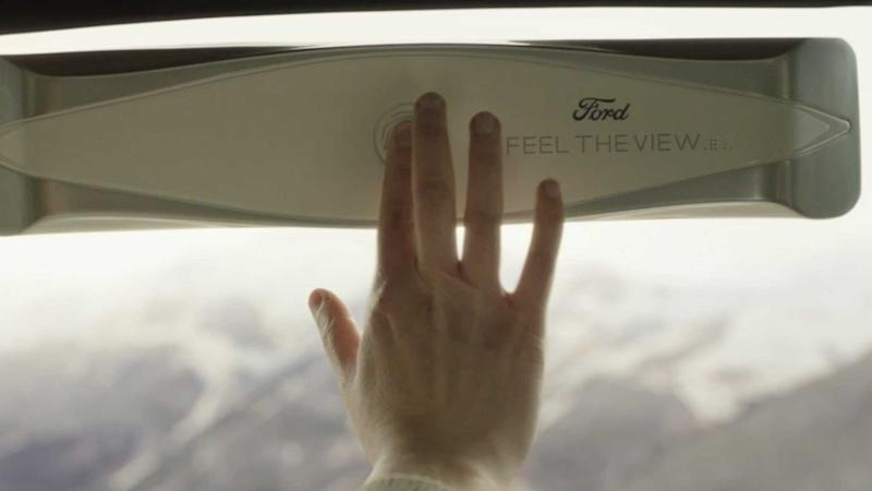 Blind People Can See Through Ford's New Car Window