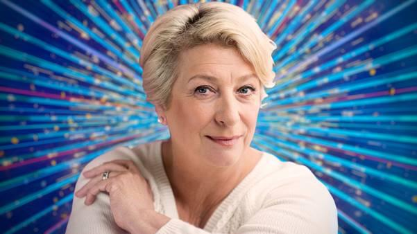 Caroline Quentin is taking to the floor for Strictly 2020. (BBC)