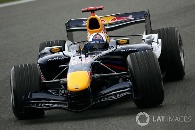 "2006: Red-Bull-Ferrari RB2 <span class=""copyright"">Sutton Images</span>"