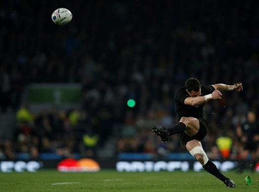 Dan Carter was named world player of the year after the 2015 World Cup final