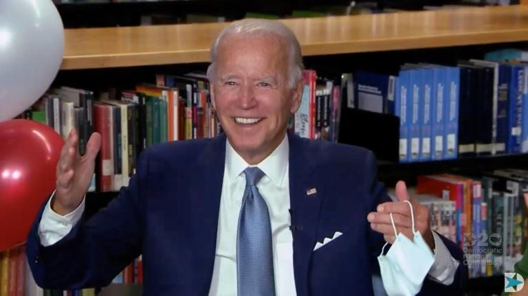 Democrat Biden nominated to take on Trump and 'make a nation whole'