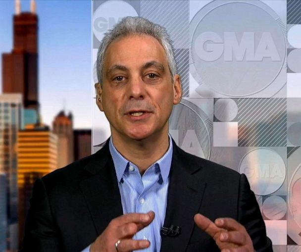 PHOTO: Chicago Mayor Rahm Emanuel appears on 'Good Morning America,' March 27, 2019. (ABC News)