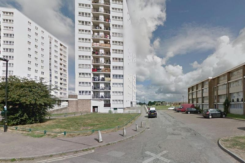 Murder scene: Exeter Road, Enfield, where a man was stabbed to death: Google maps