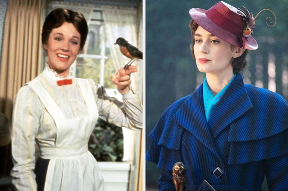 The two Mary Poppins