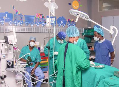 In Tanzania, NGOs Smile Train and Kids Operating Room Complete Renovation on First Joint Pediatric Operating Room