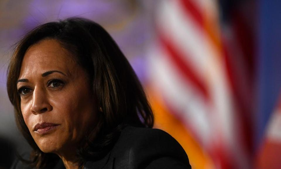 As a candidate, Vice-President-elect Kamala Harris said the Department of Justice would have 'no choice' but to bring charges against Donald Trump when he leaves office.