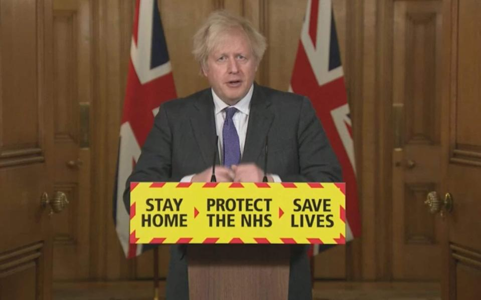 Boris Johnson - PA Video