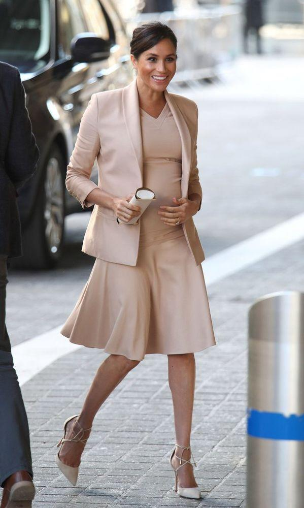 Meghan Markle visits the National Theatre   Yui Mok/PA Images via Getty