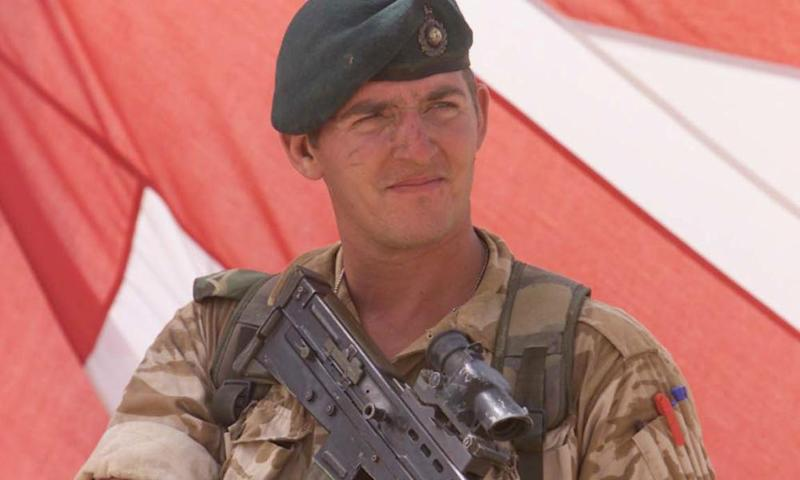Alexander Blackman, who was found guilty of murder after footage emerged of him killing wounded Taliban fighter