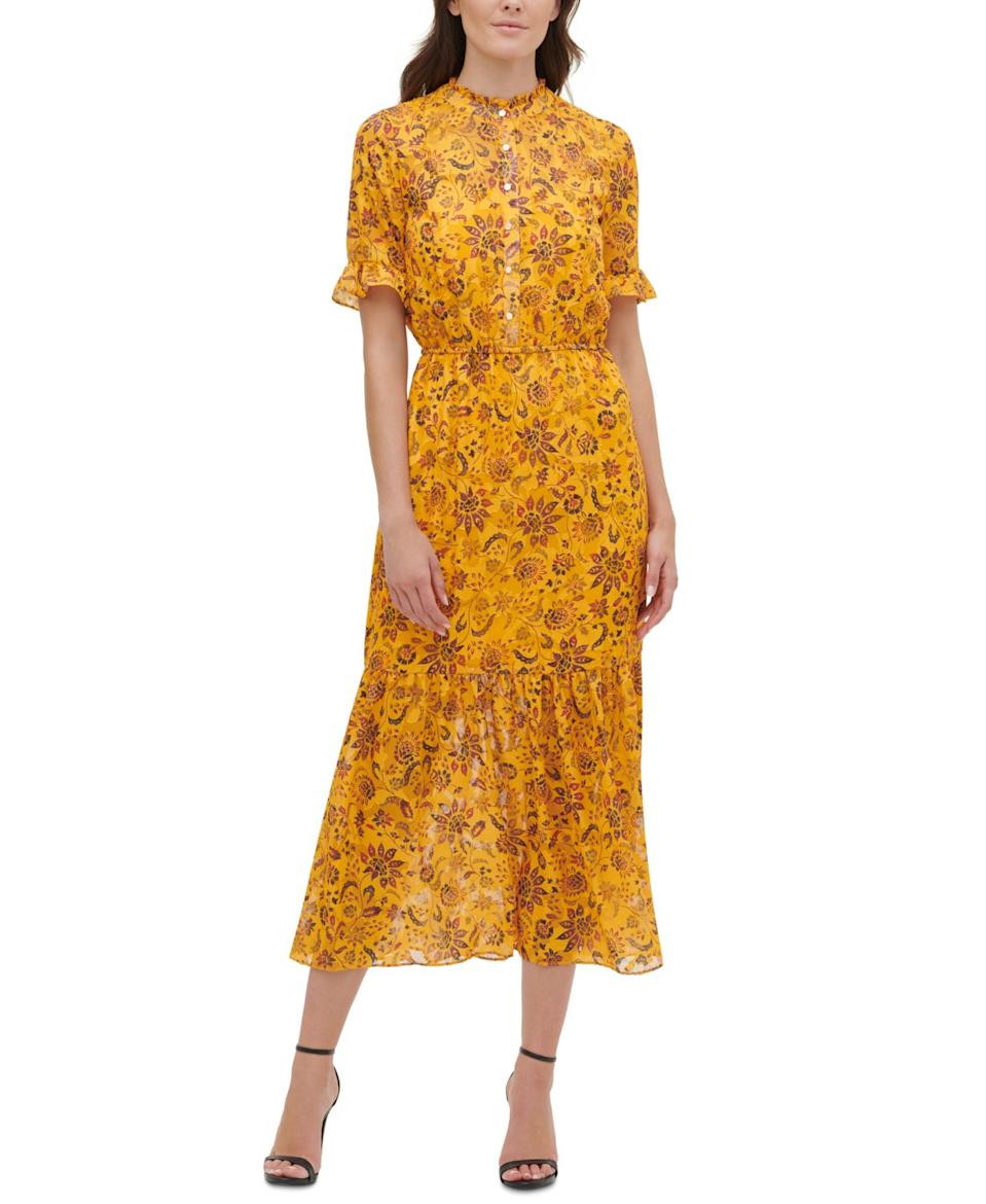 """<br><br><strong>Kensie</strong> Floral-Print Maxi Dress, $, available at <a href=""""https://www.macys.com/shop/product/kensie-floral-print-maxi-dress?ID=9945106&CategoryID=80422"""" rel=""""nofollow noopener"""" target=""""_blank"""" data-ylk=""""slk:Macy's"""" class=""""link rapid-noclick-resp"""">Macy's</a>"""