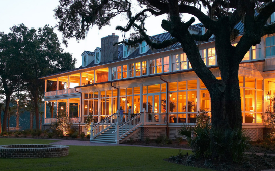 """<p>With Spanish moss trailing from evergreen oaks, and riverfront cottages with porches perfect for mint julep sipping, the <a href=""""http://www.palmettobluff.com/stay.aspx"""" rel=""""nofollow noopener"""" target=""""_blank"""" data-ylk=""""slk:Inn at Palmetto Bluff"""" class=""""link rapid-noclick-resp"""">Inn at Palmetto Bluff</a> embodies gracious Southern living. Formerly a series of antebellum plantations, <a href=""""http://www.travelandleisure.com/travel-guide/bluffton/hotels/inn-at-palmetto-bluff-a-montage-resort"""" rel=""""nofollow noopener"""" target=""""_blank"""" data-ylk=""""slk:this hotel"""" class=""""link rapid-noclick-resp"""">this hotel</a> combines a homey vibe with five-star service. Guests young and old can fish, hike, bike, kayak, and enjoy tennis and croquet. The Inn's beach is a sandbar formation on the banks of the May River, positioned across from acres of nature preserves and marshland. (Photo: Tai Power Seef)</p>"""