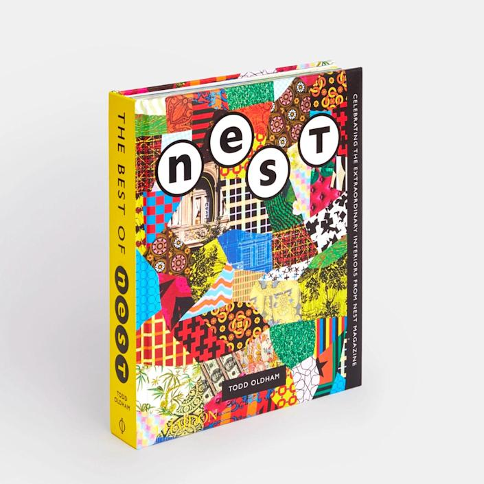 """The grad who has taken a liking to interior design will glean inspiration from this design book which is a comprehensive collection of <em>Nest</em>, a magazine published from 1997 to 2004 that focused on nontraditional and unusual environments, a.k.a. Instagram gold. $100, Phaidon. <a href=""""https://www.phaidon.com/store/design/the-best-of-nest-9781838661854/"""" rel=""""nofollow noopener"""" target=""""_blank"""" data-ylk=""""slk:Get it now!"""" class=""""link rapid-noclick-resp"""">Get it now!</a>"""