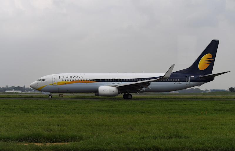 """A Jet Airways plane had to return after crew """"forgot"""" to turn on the cabin pressure regulator: Sajjad Hussain/AFP/Getty Images"""