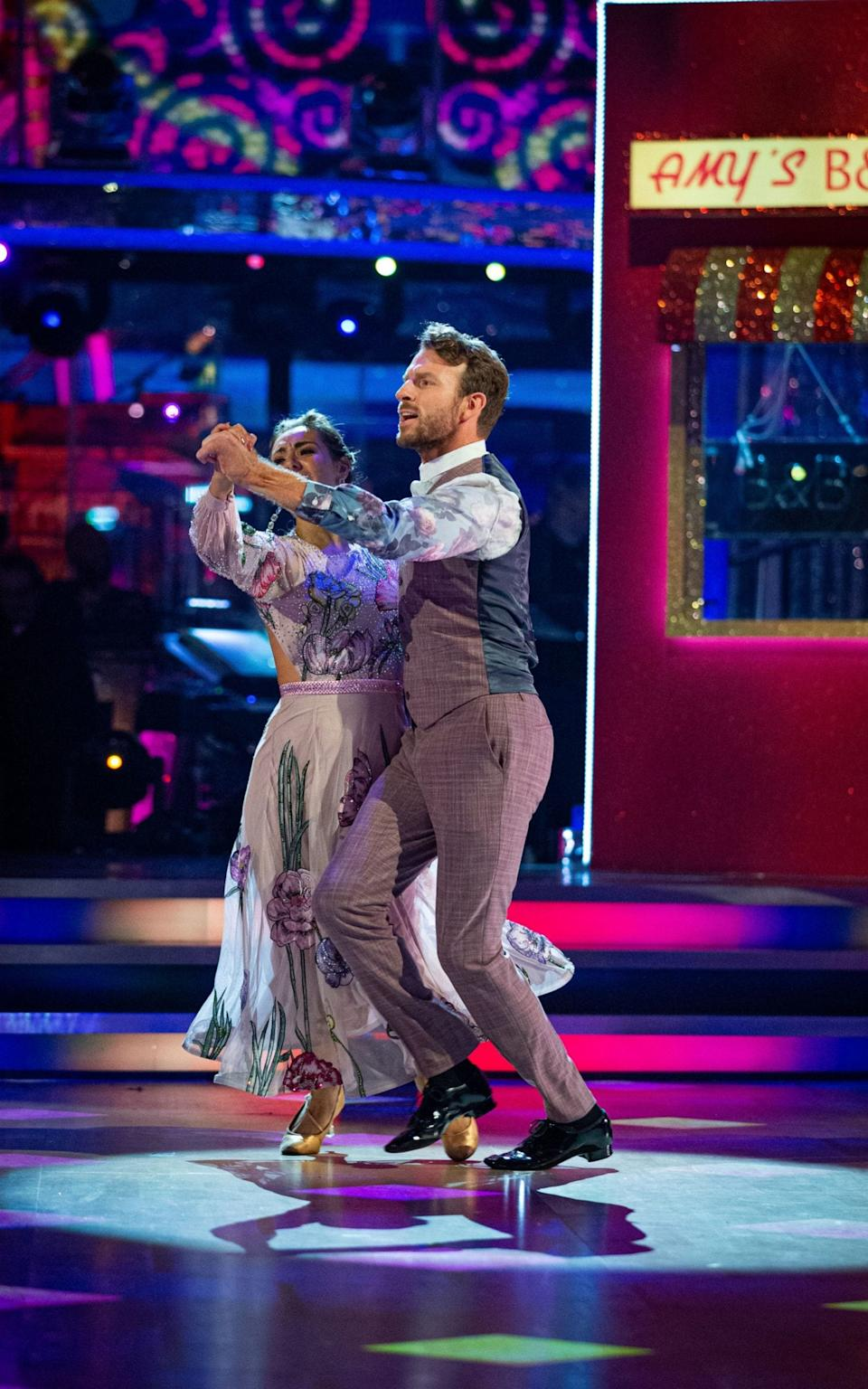JJ and Amy's quickstep