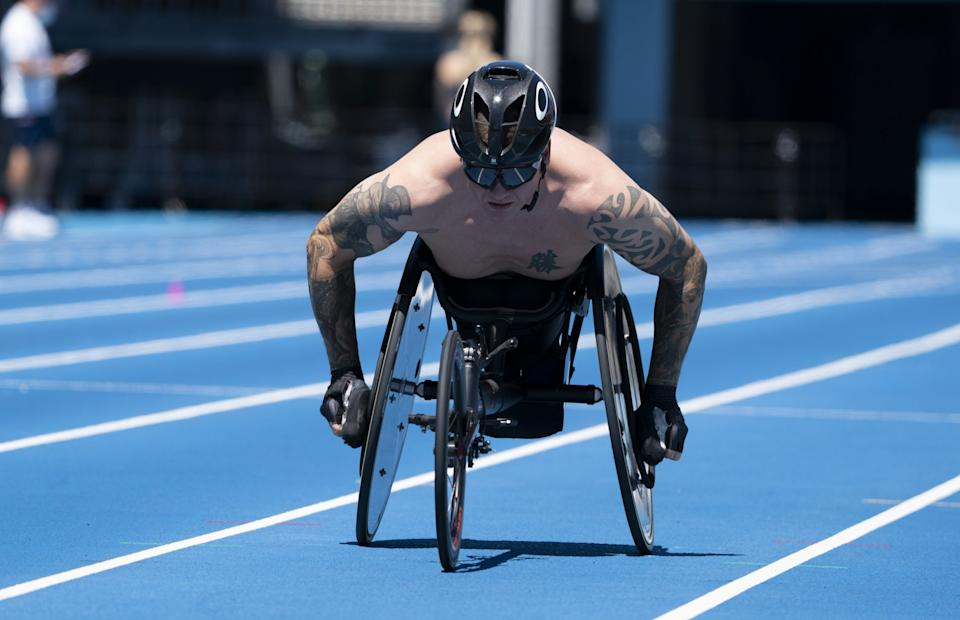 David Weir is shifting gears to the marathon after finishing eighth in his 5,000m heat (Picture: Imagecomms)