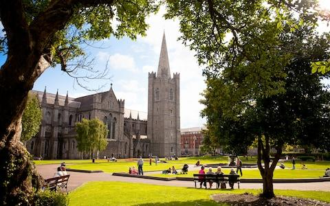 St Patrick's Park and Cathedral - Credit: Getty