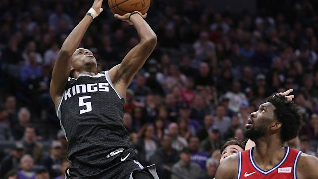The Kings poked fun at the 76ers' recent misery.