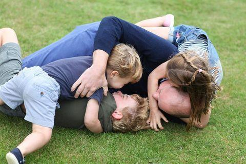 <p>There's nothing like some royal backyard rumbles! Prince William marked his birthday in June with new portraits starring his children and taken by Kate.</p>