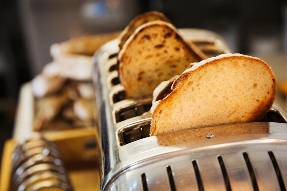 Don't make it difficult – use a toaster.