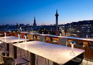 """<p>If there's one good thing to have come out of the pandemic it's the way we've been encouraged to explore London's best outdoor terraces for food and drinks. And it's safe to say <a href=""""https://trafalgarstjames.com/the-rooftop"""" rel=""""nofollow noopener"""" target=""""_blank"""" data-ylk=""""slk:The Rooftop"""" class=""""link rapid-noclick-resp"""">The Rooftop</a> at the Trafalgar St James Hotel has become one of our favourite finds. </p><p>With views overlooking Trafalgar Square Big Ben and The London Eye, guests are invited to enough a delicious menu of small sharing plates and grilled dishes inspired by Japan and Korea, as well as lip-smacking cocktails. We suggest asking for the Coupette (vodka, lychee, aloe vera, lime juice and raspberry shrub) to start followed by the Shittake bao bun, octopuse takoyaki and prawn tempura, and then the grilled salmon teriyaki and mapo togu with chargrilled stem broccoli and Sesame seeds. Warning – one visit here and you won't want to leave. </p>"""