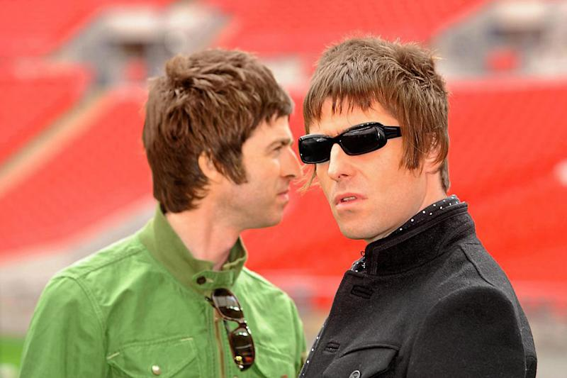 Feud: Noel Gallagher has been branded 'fake' by brother Liam: Zak Hussein/PA