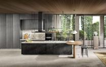 """<p><a href=""""https://www.dada-kitchens.com/us/"""" rel=""""nofollow noopener"""" target=""""_blank"""" data-ylk=""""slk:Dada"""" class=""""link rapid-noclick-resp"""">Dada</a>'s 2020 collections show off the brand's wall-to-wall seamless cabinetry and sharp, clean lines. This sleek, effortless aesthetic is sure to carry over into 2021. </p>"""