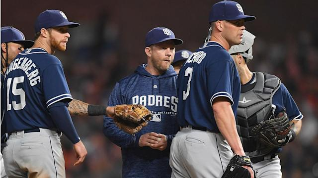 San Diego axed Andy Green, 41, with just more than a week remaining in another sub-.500 season for the MLB franchise.