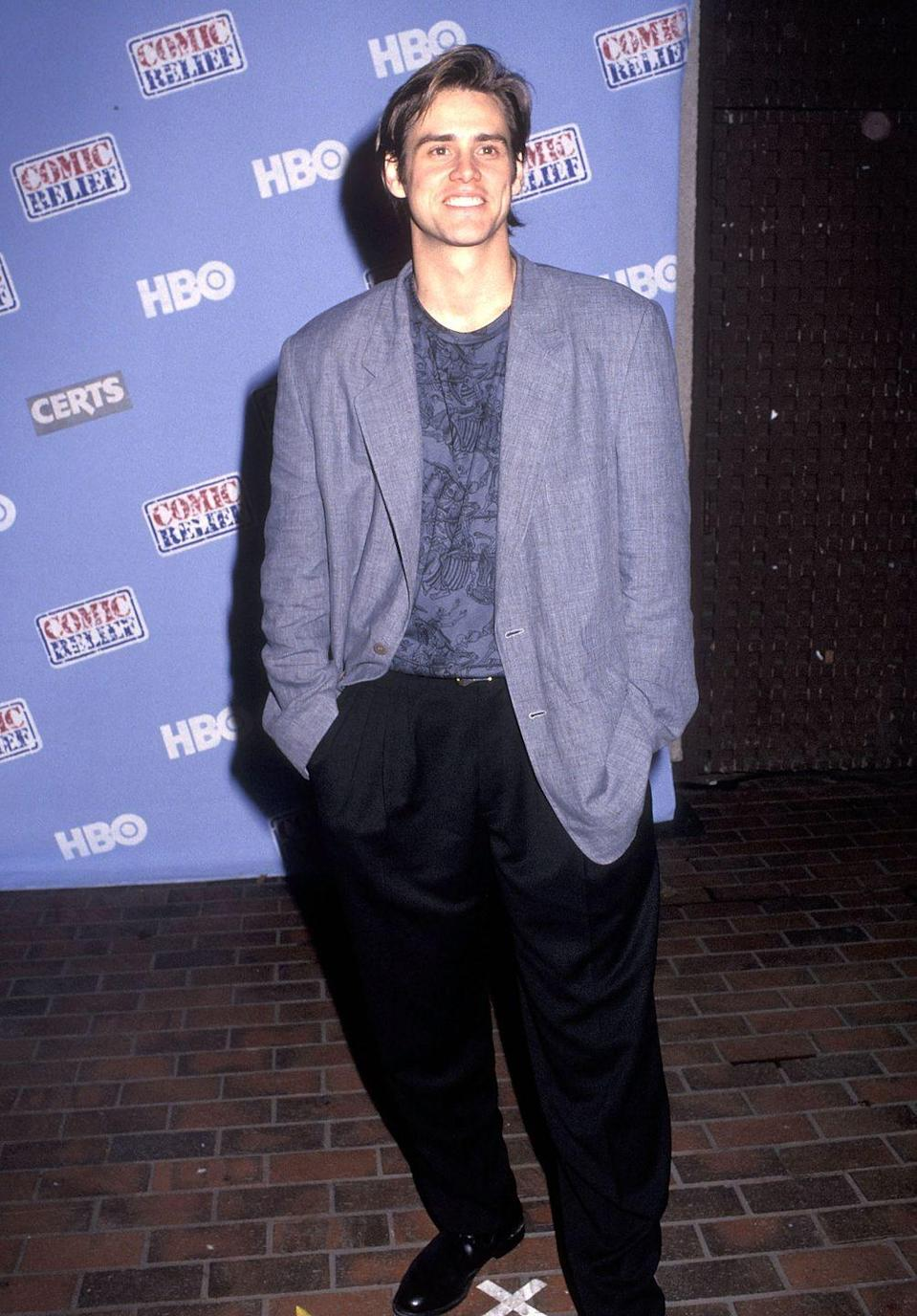<p>In the early '90s, Jim Carrey started off as a stand-up comedian, and his acting career took off in the mid-90s. With films like <em>Dumb and Dumber, Ace Ventura</em>, and <em>The Mask</em>, as well as many others, Carrey was known as one of the funniest actors of the decade. </p>