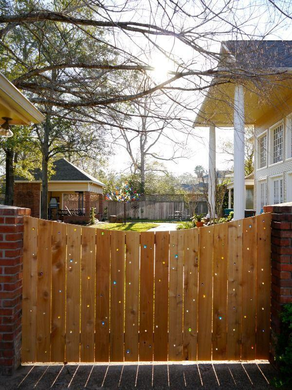 "<p>Dress up a plain fence with colorful marbles. As the sun shines through, you get this pretty glowing effect that takes a fence from boring to brilliant!</p><p><strong>Get the tutorial at <a href=""https://www.creatingreallyawesomefunthings.com/marble-fence/"" rel=""nofollow noopener"" target=""_blank"" data-ylk=""slk:Creating Really Awesome Fun Things"" class=""link rapid-noclick-resp"">Creating Really Awesome Fun Things</a>.</strong></p><p><a class=""link rapid-noclick-resp"" href=""https://www.amazon.com/POPLAY-Beautiful-Marbles-Multiple-Whistle/dp/B0185GRQV6/?tag=syn-yahoo-20&ascsubtag=%5Bartid%7C2164.g.32651791%5Bsrc%7Cyahoo-us"" rel=""nofollow noopener"" target=""_blank"" data-ylk=""slk:SHOP MARBLES"">SHOP MARBLES</a></p>"