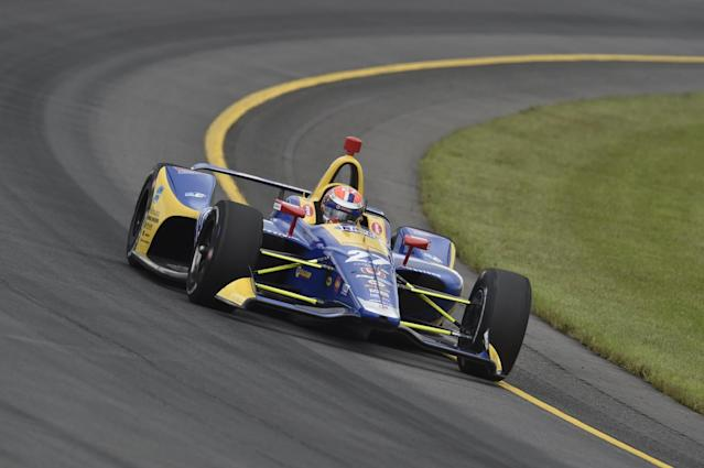 Alexander Rossi was the class of the field during Sunday's ABC Supply 500, leading most of the way to take his third win of the season and close in on Scott Dixon in the championship chase.