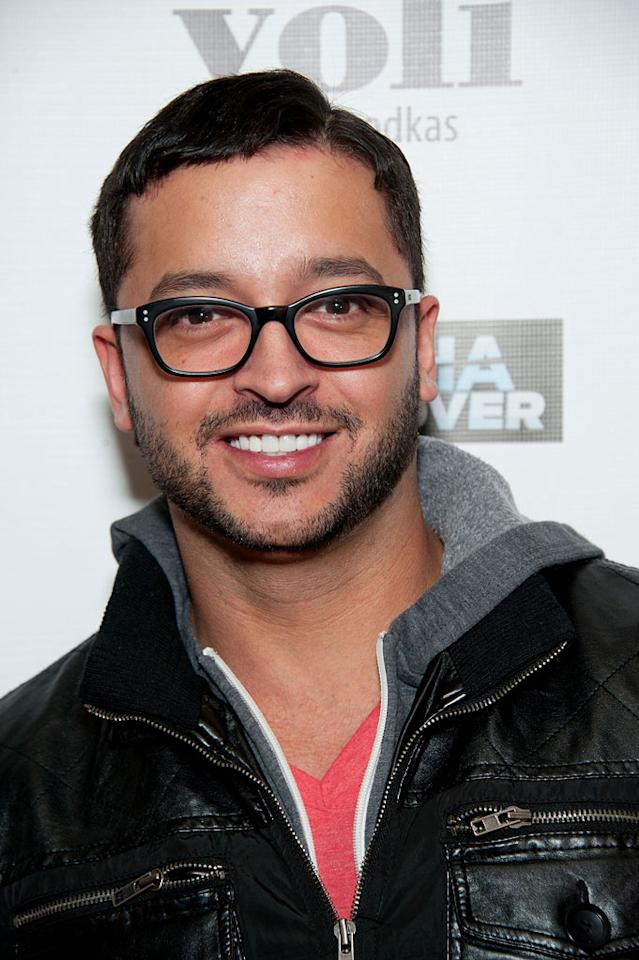 """Jai Rodriguez attends Bravo's """"Tabatha Takes Over"""" premiere party at Mr. Black on January 10, 2012 in Los Angeles, California."""