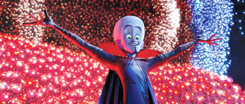 """<p><strong>HBO Max's Description:</strong> """"Though he is the most-brilliant supervillain the world has known, Megamind is the least-successful. Thwarted time and again by heroic Metro Man, Megamind is more surprised than anyone when he actually manages to defeat his longtime enemy. But without Metro Man, Megamind has no purpose in life, so he creates a new opponent, who quickly decides that it's more fun to be a bad guy than a hero.""""</p> <p><a href=""""https://play.hbomax.com/feature/urn:hbo:feature:GXtk_SAmm38PCwgEAAATl"""" class=""""link rapid-noclick-resp"""" rel=""""nofollow noopener"""" target=""""_blank"""" data-ylk=""""slk:Watch Megamind on HBO Max"""">Watch <strong>Megamind</strong> on HBO Max</a> before it leaves the service in September.</p>"""