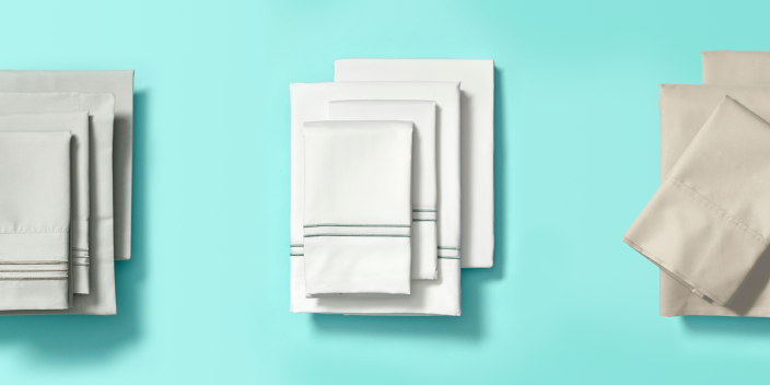 """<p>There are lots of things to consider when you <a href=""""https://www.goodhousekeeping.com/home-products/best-sheets/a45102/bed-sheets-buying-guide/"""" rel=""""nofollow noopener"""" target=""""_blank"""" data-ylk=""""slk:buy bed sheets"""" class=""""link rapid-noclick-resp"""">buy bed sheets</a>: Are they strong? Will they wrinkle? How easy are they to get on the <a href=""""https://www.goodhousekeeping.com/home-products/g4138/best-mattress-in-a-box/"""" rel=""""nofollow noopener"""" target=""""_blank"""" data-ylk=""""slk:mattress"""" class=""""link rapid-noclick-resp"""">mattress</a>? But first and foremost, they need to be soft and comfortable if they truly are <a href=""""https://www.goodhousekeeping.com/home-products/best-sheets/g3038/best-sheets-reviews/"""" rel=""""nofollow noopener"""" target=""""_blank"""" data-ylk=""""slk:high quality sheets"""" class=""""link rapid-noclick-resp"""">high quality sheets</a>.</p><p>While percale and <a href=""""https://www.goodhousekeeping.com/home-products/best-sheets/g25937065/best-linen-sheets/"""" rel=""""nofollow noopener"""" target=""""_blank"""" data-ylk=""""slk:linen sheets"""" class=""""link rapid-noclick-resp"""">linen sheets</a> usually feel more crisp, like hotel sheets, they're not ideal if you're looking for the softest sheets. <strong>These materials make the softest bed sheets:</strong></p><ul><li><strong>Sateen:</strong> The yarn in one direction floats over several yarns in the opposite direction, giving this type of weave a smoother feel than a basic, grid-like percale. When it comes to 100% cotton, our testers tend to prefer sateen for its softness.<br></li><li><strong>Flannel:</strong> The surface of <a href=""""https://www.goodhousekeeping.com/home-products/best-sheets/g25361996/best-flannel-sheets/"""" rel=""""nofollow noopener"""" target=""""_blank"""" data-ylk=""""slk:flannel"""" class=""""link rapid-noclick-resp"""">flannel</a> fabric is brushed so it traps in air to keep you warm, but that process also makes it feel soft and cozy.<br></li><li><strong>Microfiber:</strong> These sheets are made of super thin polyester fibers and give a buttery-"""