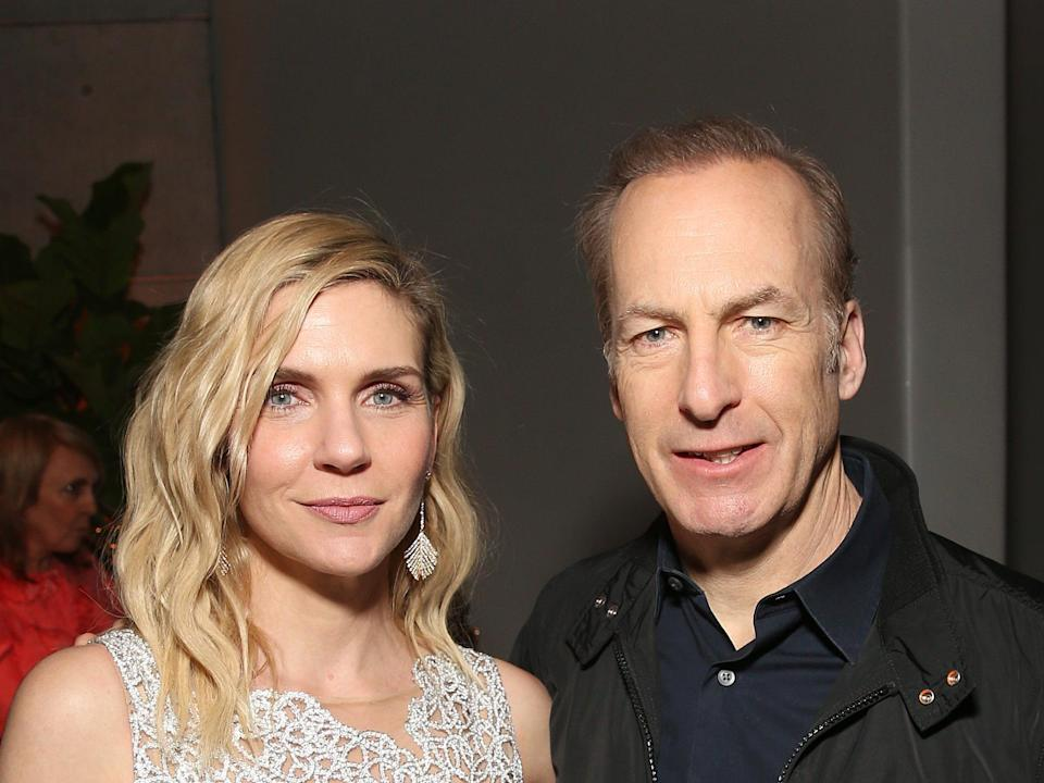Rhea Seehorn and Bob Odenkirk have starred in 'Better Call Saul' since 2015 (Getty Images for AMC)