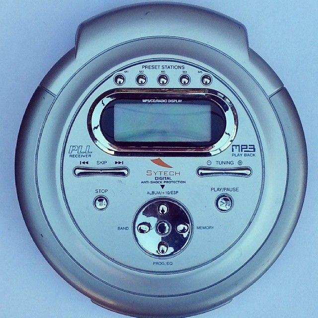 <p>While kids probably know what CDs are (hey, cars still use 'em ... for now) they might not recognize this portable player. MP3s essentially wiped this technology from existence, since they're lighter and don't require you to carry your entire CD collection around with you to listen to a different album.</p>