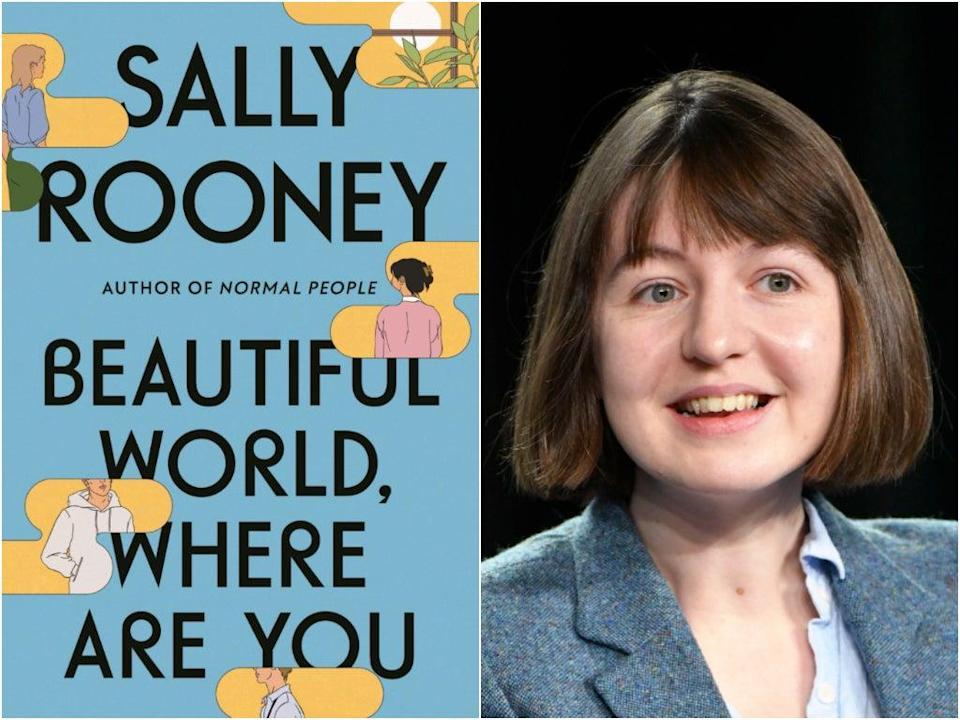 The success of 'Normal People' and 'Conversations with Friends' has made Sally Rooney's 'Beautiful World, Where Are You' one of the year's most hotly anticipated releases (Faber/Getty)