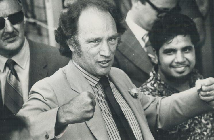 Pierre Elliot Trudeau, seen here on June 23, 1971, pushed for a multicultural Canadian society later that year. Photo: Fred Ross/Toronto Star via Getty Images