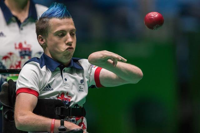 Great Britain's David Smith is preparing for his fourth Paralympic Games